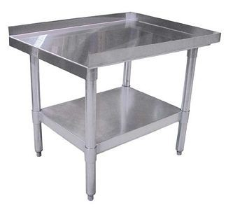 "Omcan (FMA) 22062 Stainless Steel Equipment Stand 72"" x 30"" x 24"""