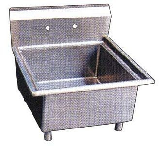 Omcan (FMA) 22118 One Compartment Pot Sink