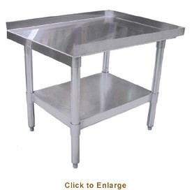 """Omcan (FMA) 24087 Stainless Steel Equipment Stand 15"""" x 30"""" x 24"""""""