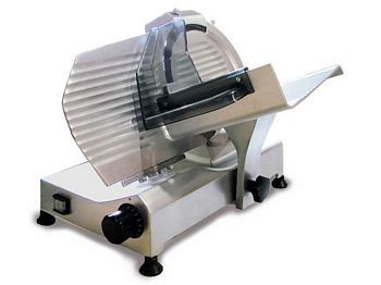 "Omcan (FMA) 13620 Manual Gravity Feed Meat Slicer 10"" - 1/3 HP"