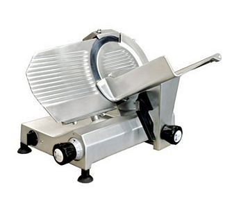 "Omcan (FMA) 13621 Manual Gravity Feed Meat Slicer 10"" - .35 HP"
