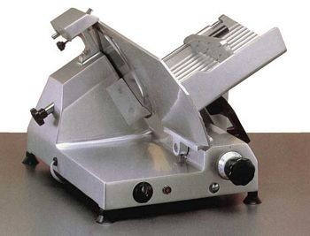 "Omcan (FMA) 13629 Medium-Duty Belt Driven Meat Slicer 12"" - 1/2 HP"