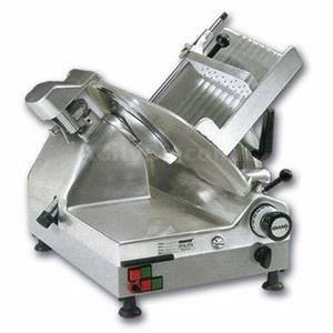 """Omcan (FMA) 39477 Gear Driven Automatic Slicer 13"""" - 0.60 HP"""