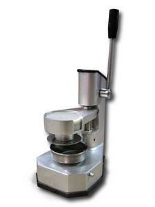 """Omcan (FMA) 11434 Stainless Steel Top Down Press Patty Maker 4"""" Dia."""