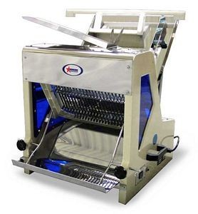 """Omcan (FMA) 44250 Commercial Heavy Duty Automatic Bread Slicer 7/16"""""""