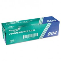 """Reynolds Clear PVC Film Roll with Cutter Box, 18"""" x 1000 ft,"""