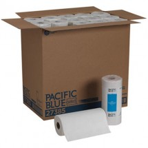 """Pacific Blue Select Perforated Paper Towel, 8 4/5"""" x 11"""", White, 30 Rolls/Carton"""