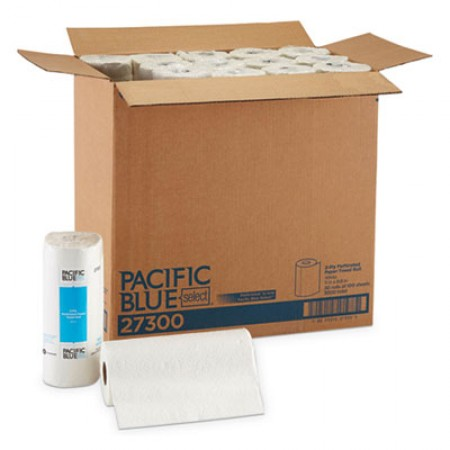 Pacific Blue Select Perforated Paper Towel Roll, 11 x 8 7/8, White, 100/Roll