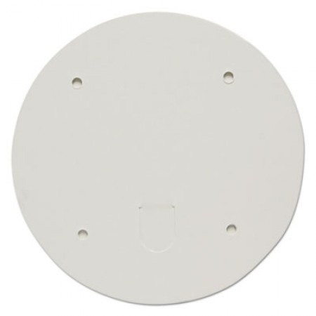 Paper Lids for 83oz Food Containers, White, Vented, 7.2