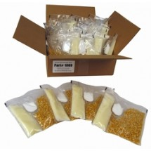 Paragon 1009 Kettle Corn Dual Portion Packs for 6 oz. Poppers - 24 packs