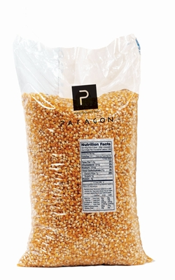 Paragon 1020 Country Harvest Bulk Yellow Popcorn 4 - 12.5 lbs. Bags