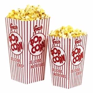 Paragon 1044 Popcorn Scoop Box .79 oz. - 100 boxes