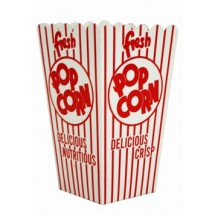 Paragon 1045 Popcorn Scoop Box 1.75 oz. - 100 boxes