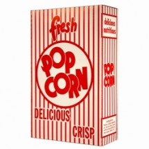 Paragon 1072 Classic Popcorn Box 1.25 oz. - 100 boxes
