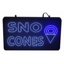 Paragon 1097 LED Sno Cone Lighted Sign