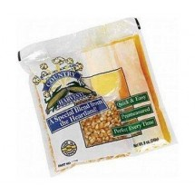 Paragon 1100 Country Harvest Popcorn Portion Pack 4 oz. (Mega Case) - 40 packs