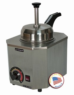 Paragon 2028 C & D Pro Deluxe # 10 Can Warmer with Heated Pump