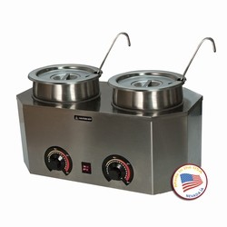 Paragon 2029A Pro-Deluxe Dual Warmer with Ladles