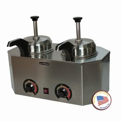 Paragon 2029C Pro-Deluxe Dual Warmer with Frontside Heated Pumps