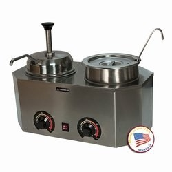 Paragon 2029E Pro-Deluxe Dual Warmer with Ladle and Pump