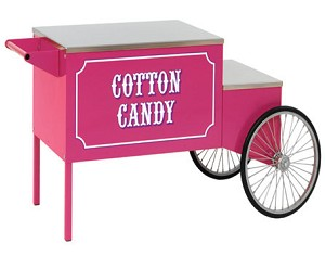 Paragon 3060010 Large Pink Cotton Candy Cart