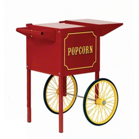 Paragon 3080010 Small Red Cart for 4 oz. Popcorn Machine