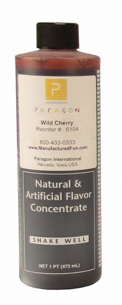 Paragon 6104 Motla Snow Cone Syrup Concentrate, Wild Cherry 16 Oz.