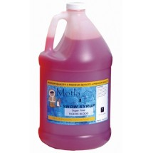 Paragon 6201 Motla Sugar-Free Sno Cone Syrup Tigers Blood One Gallon