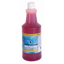 Paragon 6253 Motla Sugar-Free Sno Cone Syrup, Fresh Strawberry One Quart