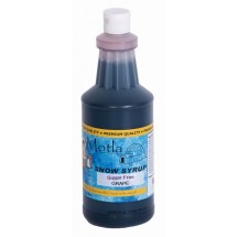 Paragon 6256 Motla Sugar-Free Sno Cone Syrup, Grape One Quart