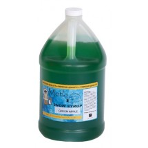 Paragon 6311 Motla Snow Cone Syrup Green Apple, One Gallon
