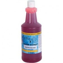 Paragon 6351 Motla Snow Cone Syrup Tigers Blood, One Quart