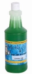 Paragon 6358 Motla Snow Cone Syrup Lemon Lime, One Quart