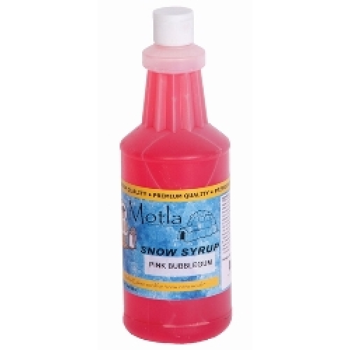 Paragon 6360 Motla Snow Cone Syrup Pink Bubblegum, One Quart