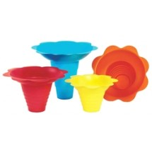 Paragon 6502 Flower Drip Tray Cups 4 oz. - 100 trays