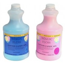 Paragon 7980 Cotton Candy Magic Floss Sugar Blue Raspberry & Pink Vanilla - 6 bottles