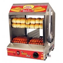 Paragon-8020-Dog-Hut-Hot-Dog-Steamer