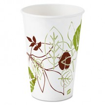 Dixie Pathways Polycoated Paper Cold Cups, 16 oz. 1200/Carton