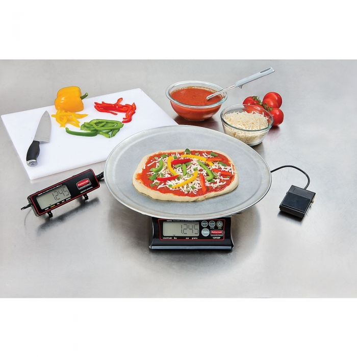Pelouze 1812625 Oversized Platform Pizza Scale Kit