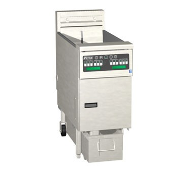 Pitco 1-SF-SE14C-S Solstice Electric Fryer with SoloFilter 50 Lb.