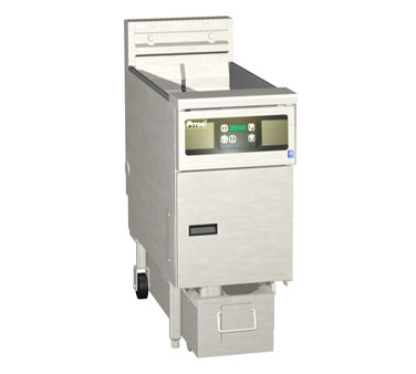 Pitco 1-SF-SE14D-S Solstice Electric Fryer with SoloFilter 50 Lb.