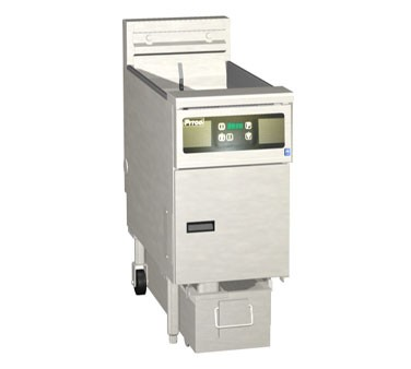 Pitco 1-SF-SE14RD-S Solstice Electric Fryer  High Power with SoloFilter 50 Lb.