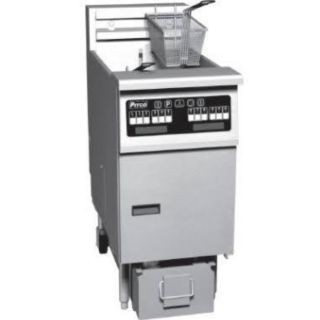 Pitco 1-SF-SE18RSSTC-S Solstice Electric Fryer with SoloFilter High Power 70 - 90 Lb.
