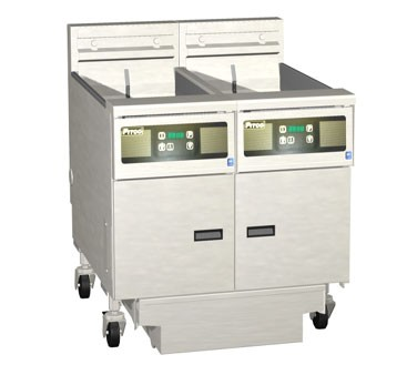 Pitco 2-SE14D Solstice Electric Fryer with Filter Drawer (2) 50 Lb.