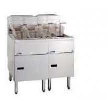 Pitco 2-SE14RC Solstice Electric Fryer with Filter Drawer (2) 50 Lb.