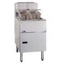 Pitco 2-SE18C Solstice Electric Fryer with Filter Drawer (2) 70 - 90 Lb.
