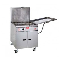 Pitco 24F Gas Fish Fryer With Thermostatic Controls 150,000 BTU
