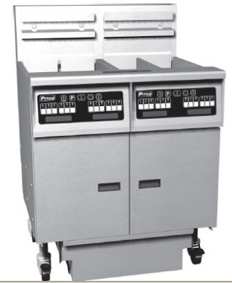 Pitco 3-SE14RSSTC Solstice Electric Fryer with Filter Drawer (3) 50 Lb.