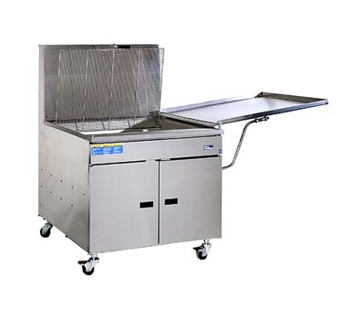 Pitco 34PM Gas Donut Fryer 210 Lb. Oil Capacity with Mechanical Thermostat