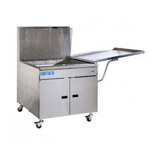 Pitco 34PSS Gas Donut Fryer 210 Lb. Oil Capacity with Solid State Thermostat